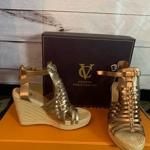Vince Camuto Signature Wedges